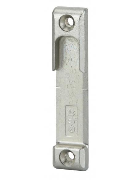 Gâche galet en applique réversible pour porte d'entrée, 80x17x8mm, Europa-Secury-Fercomatic, 8-000873-00-0-1 - FERCO by THIRA...