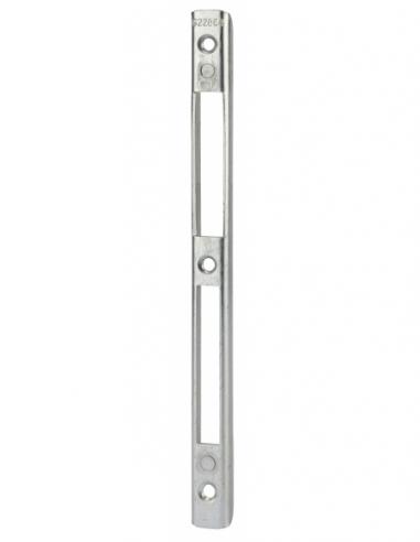 Gâche centrale encastrable réversible pour porte d'entrée, 208x17x7mm, Europa, G-22864-00-0-1 - FERCO by THIRARD Gâche de porte