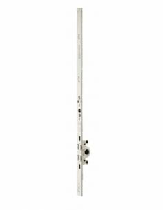 Crémone ouvrant à la française Unijet pour fenêtre bois, axe 15mm, H. 400mm, G-2204C-00-0-1 - FERCO by THIRARD Crémone