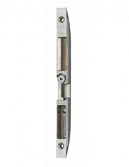 Gâche centrale encastrable pour porte d'entrée bois, droite, 188x14x15mm, Fercomatic, G-22893-00-R-1 - FERCO by THIRARD Gâche...