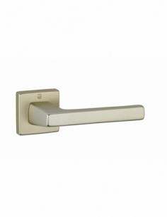 Paire de béquilles Archimede pour porte, carré 7mm, couleur F2 - THIRARD Poignée