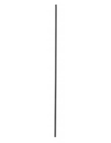 Tringle pour crémone 1.15m, pour fenêtre, 16 x 5mm, acier noir - THIRARD Serrure