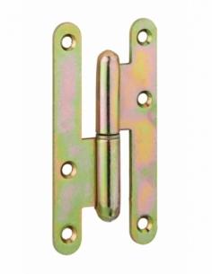 Charnière de porte d'entrée/intérieure, 110x55mm, acier, gauche - THIRARD Equipement