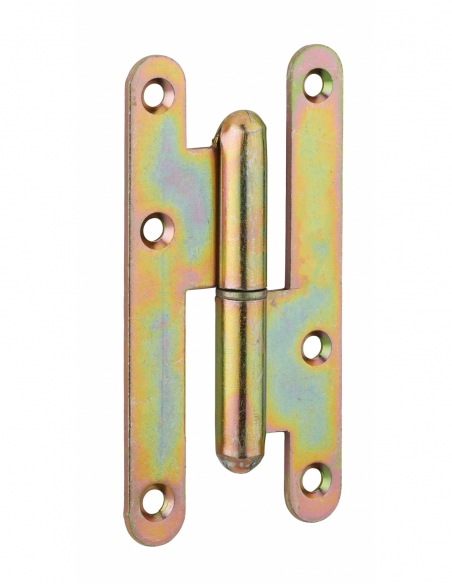 Charnière de porte d'entrée/intérieure, 110x55mm, acier, droite - THIRARD Equipement