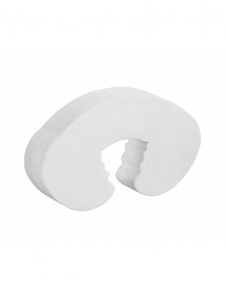 Lot de 2 amortisseurs de porte anti-pince doigt, blanc - THIRARD Equipement