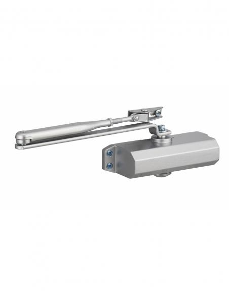 Ferme-porte automatique réversible hydraulique force 3, argent - THIRARD Equipement