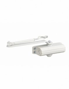 Ferme-porte automatique hydraulique force 3, blanc - THIRARD Equipement