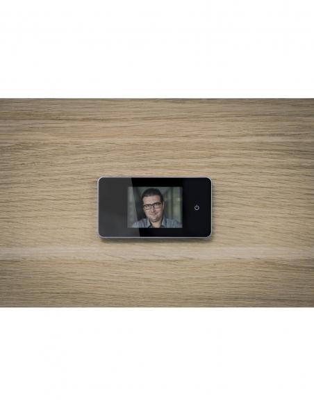 Judas numérique vidéo 100°, argent - THIRARD Equipement
