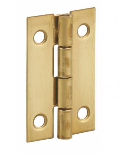 Charnière de porte, 40x25mm, laiton - THIRARD Equipement