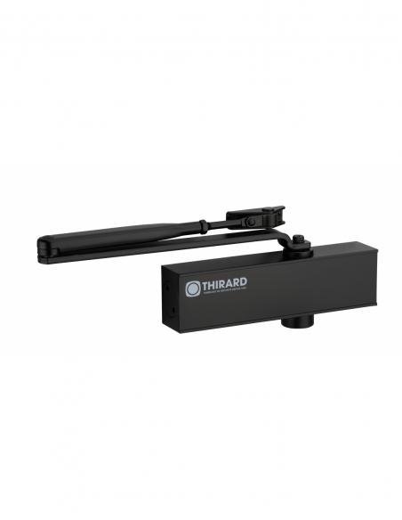 Ferme-porte automatique hydraulique Design force 3, noir - THIRARD Equipement