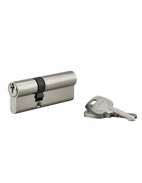 Cylindre 30 x 50 mm panneton ESP 3 clés nickelé - THIRARD Cylindre de serrure