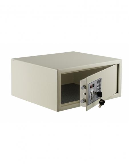 Coffret de sécurité pour laptotp Vincennes, fermeture électronique à code, 2 pênes, 13.7L - THIRARD Coffre fort