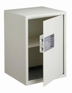 Coffret de sécurité à poser Vincennes, fermeture électronique à code, 2 pênes, 53L - THIRARD Coffre fort