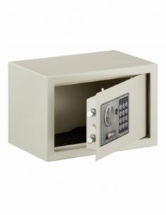 Coffret de sécurité à poser Vincennes, fermeture électronique à code, 2 pênes, 9L - THIRARD Coffre fort