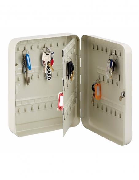 Armoire à clé Kibox, serrure à cylindre, capacité de 93 clés - THIRARD Coffre fort