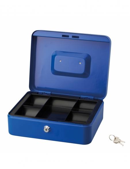 Caissette à monnaie, serrure à cylindre, 2 clés, largeur 250mm - THIRARD Coffre fort