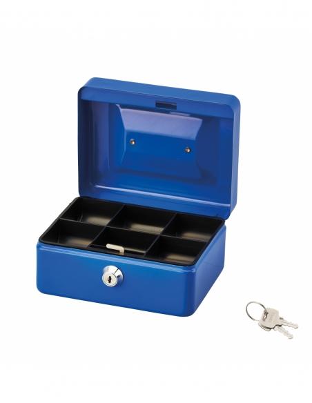 Caissette à monnaie, serrure à cylindre, 2 clés, largeur 152mm - THIRARD Coffre fort