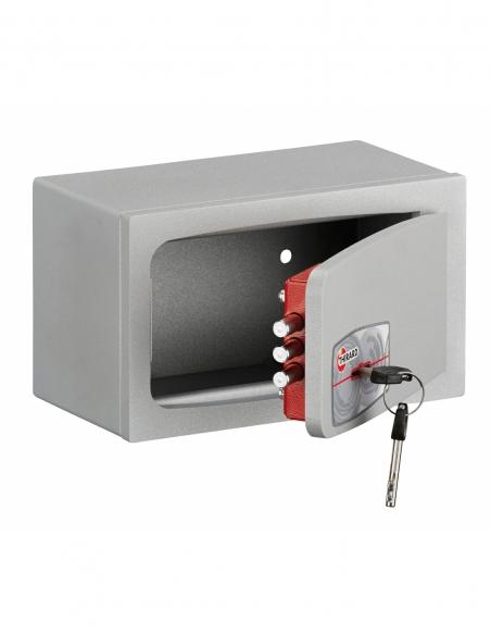 Coffre-fort à emmurer ou à poser Pierrefonds, fermeture par clé, 3 pênes, 2.5L - THIRARD Coffre fort