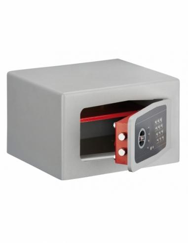 Coffre-fort à poser Rambures, fermeture électronique à code, 2 pênes, 18L - THIRARD Coffre fort