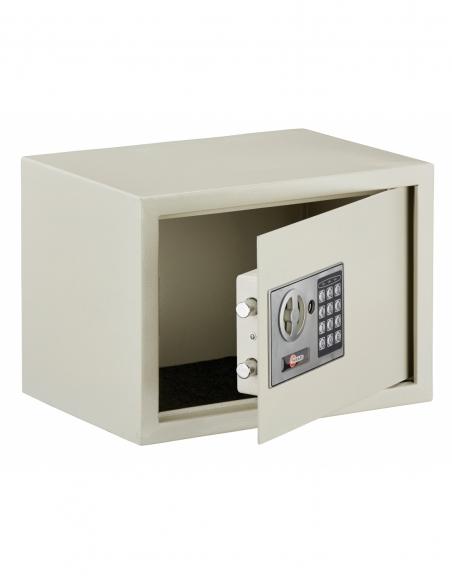 Coffret de sécurité à poser Vincennes, fermeture électronique à code, 2 pênes, 16.5L - THIRARD Coffre fort