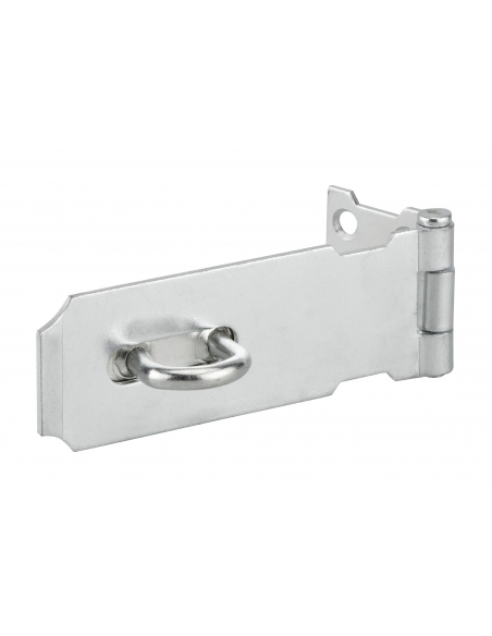 Porte cadenas pour fermeture de coffre et porte, 100mm, acier, zingué - THIRARD Cadenas