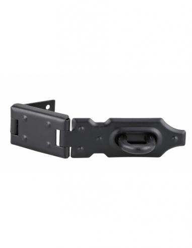 Porte-cadenas à recouvrement pour coffre et porte, acier, 140mm, zingué - THIRARD Cadenas