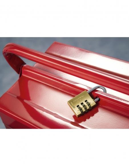 Cadenas à combinaison RB, laiton, 3 chiffres, intérieur, anse acier, 30mm - THIRARD Cadenas