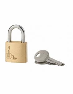 Cadenas à clé Type 1, bagage, anse acier, 20mm, 2 clés - THIRARD Cadenas