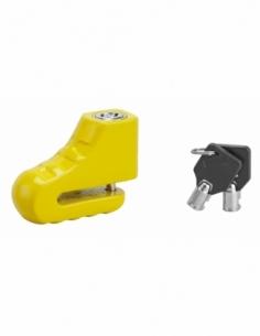 Antivol scooter Block, jaune, 2 clés - THIRARD Antivol