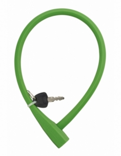 Antivol à clé Softy, câble acier, vélo, 10mmx0.6m, 2 clés - THIRARD Antivol