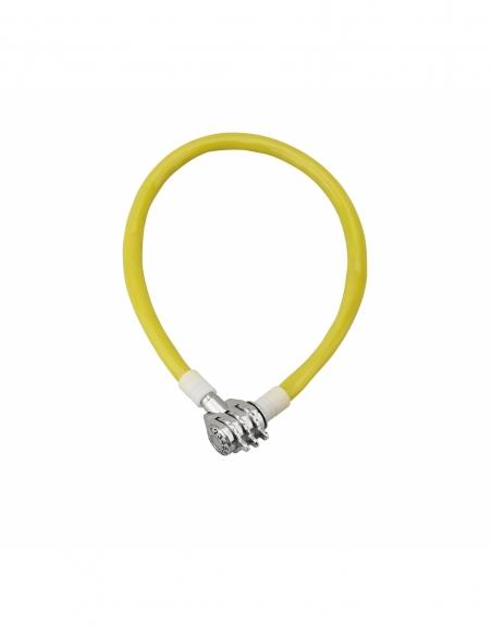 Antivol à combinaison Twisty, 3 chiffres, câble acier, vélo, 5mmx0.5m - THIRARD Antivol