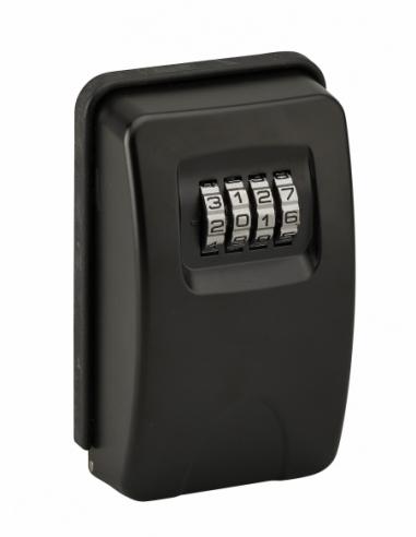 Boite à clé à combinaison, 4 chiffres, acier, 47x75mm, noir - THIRARD Boîte à clés