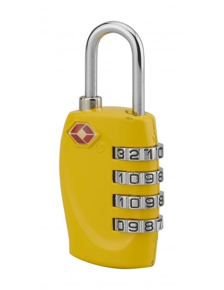Cadenas à combinaison TSA, 4 chiffres, voyage, anse acier, 30mm - THIRARD Cadenas