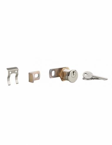 Serrure batteuse filetée et clipsable pour boîte aux lettres, épaisseur maxi 23mm - THIRARD Serrure boîte aux lettres