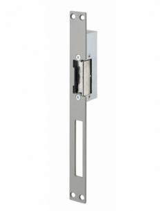 Gâche électrique pour serrure encastrable, réversible, 12V, compatible extérieur, gris - THIRARD Gâche de porte