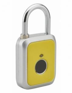 Cadenas digital, extérieur, anse acier, 45mm, jaune - THIRARD Cadenas