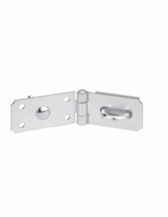 Porte cadenas renforcé, 90mm, acier - THIRARD Cadenas