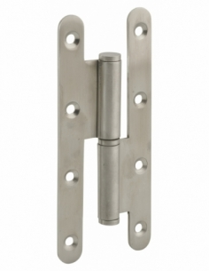 Charnière de porte d'entrée/intérieure, 140x55x2.5mm, inox, gauche - THIRARD Equipement