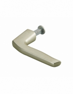 Béquille Targa pour porte, carré 7mm, or - THIRARD Serrure en applique