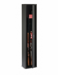 Armoire à fusil Durban, fermeture par clé, 2 pênes, capacité de 3 fusils - THIRARD Coffre fort