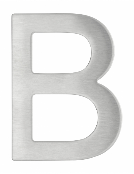 Lettre B inox H.76mm adhésif - THIRARD Equipement
