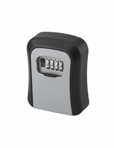 Boite à clé à combinaison, 4 chiffres, 40x94mm, acier, noir - THIRARD Boîte à clés