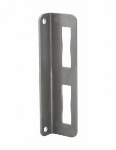 Gâche équerre à souder, réversible, largeur 40mm - THIRARD Gâche de porte