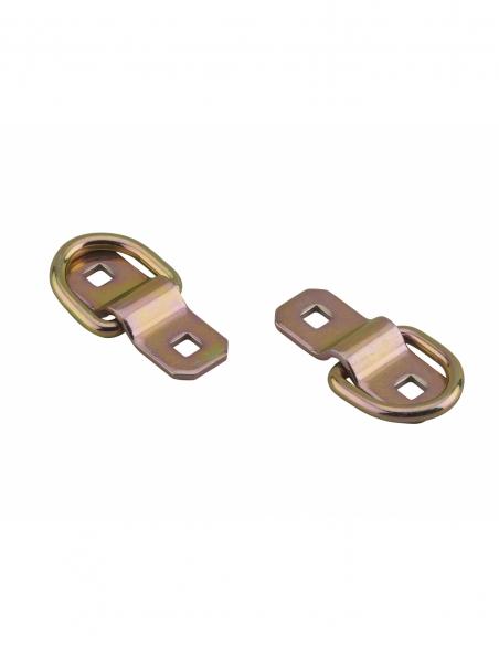 Lot de 2 anneaux d'arrimage, 10mm, zingué - THIRARD Equipement