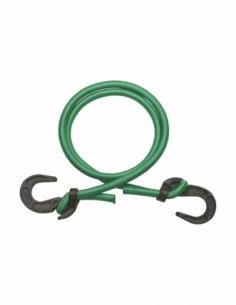 Tendeur en caoutchouc à crochets, Ø8mmx80cm, vert - THIRARD Sangle