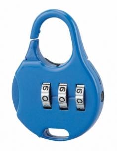 Cadenas à combinaison Nomad Goutte d'eau, 3 chiffres, intérieur, anse acier, 30mm - THIRARD Cadenas