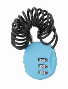 Cadenas à combinaison Nomad Rond, 3 chiffres, intérieur, cable acier, 30mm - THIRARD Cadenas