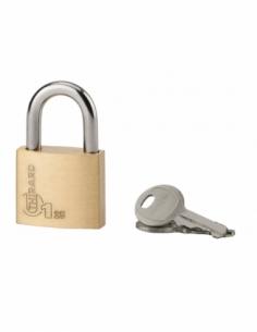 Cadenas à clé Type 1, bagage, anse acier, 25mm, 2 clés - THIRARD Cadenas à clé