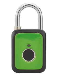 Cadenas digital, extérieur, anse acier, 45mm, vert - THIRARD Cadenas digital